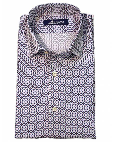 Ingram - Camisa Estampada Azul